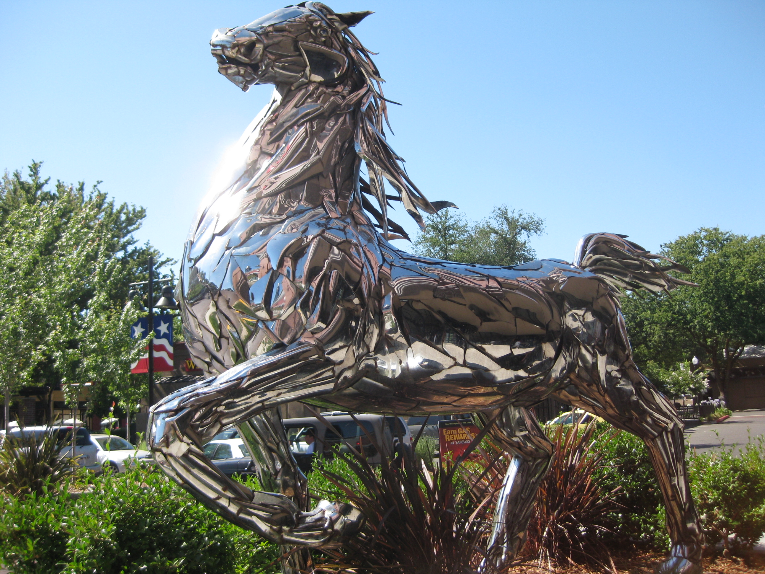 Post image for spirit the chrome horse 1814 19th st