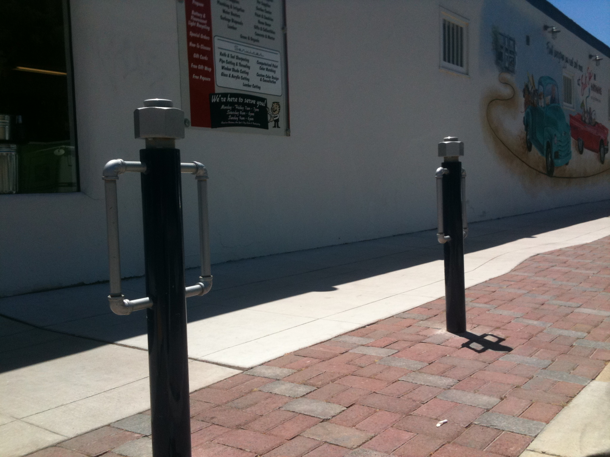 Post image for ArtTake: Arty Bike Racks Deux