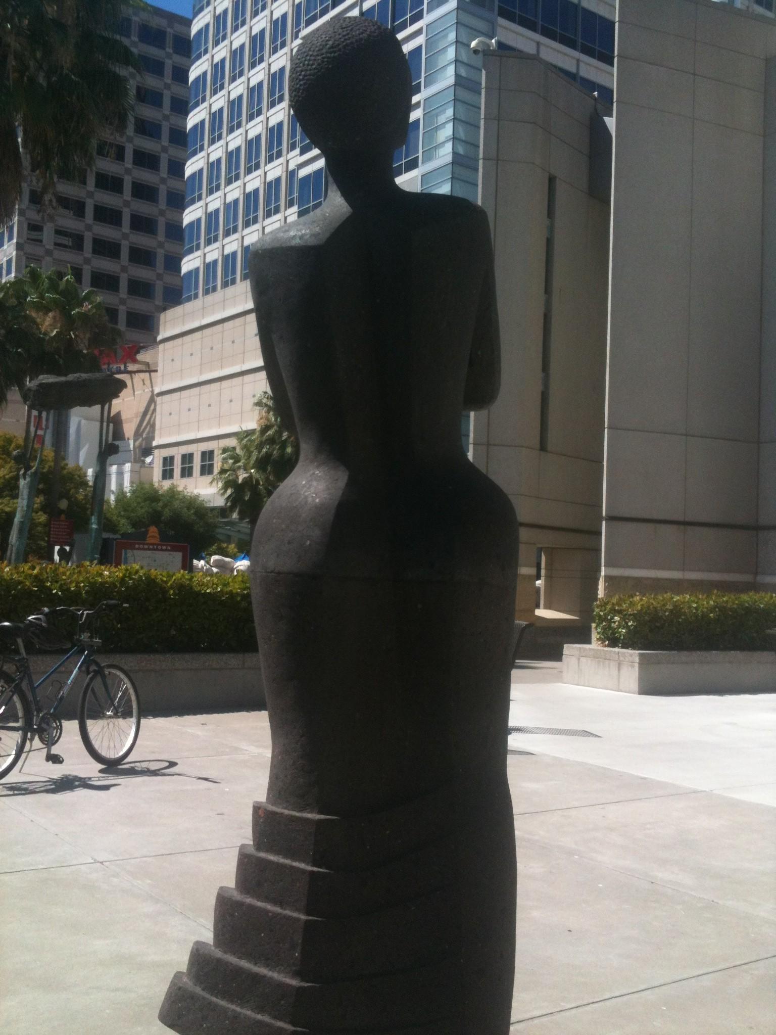 1990s Pedestrian Art Sacramento