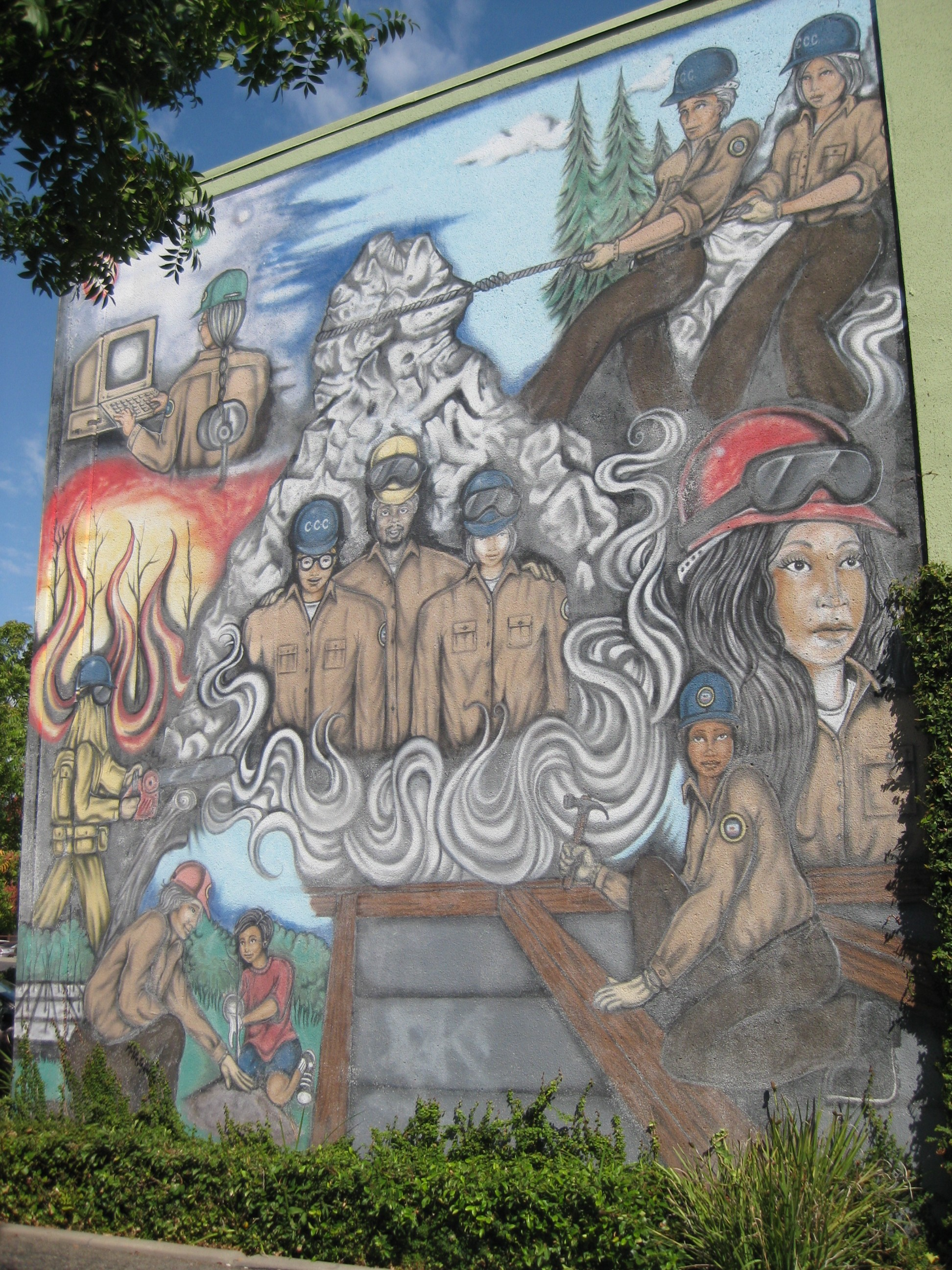 Post image for CCC Mural ~ 1719 24th St