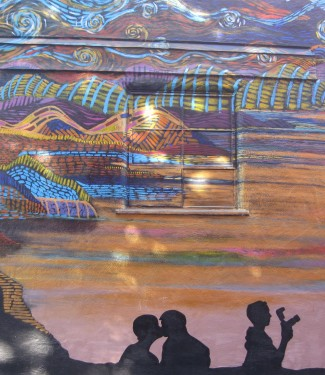 Thumbnail image for Lily Moon Mural ~ 1115 21st