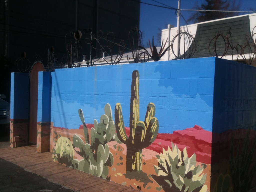 Post image for Desert Cactus and Prickly Pear ~ 23rd & K Alley